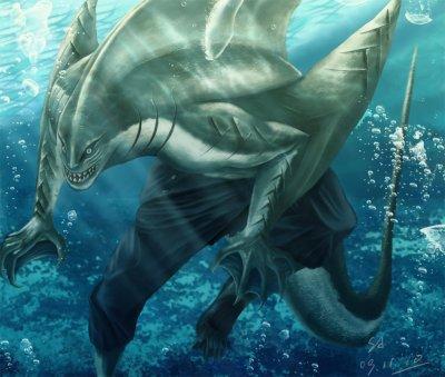 L'homme requin : Kisame Hoshigaki.