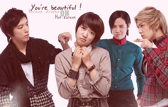 """You're Beautiful"""" 美男이시네요 / 미남이시네요 """" K-Drama"""