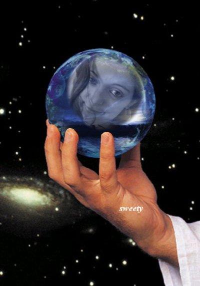 boule de crystal  magic isabelle alexandra
