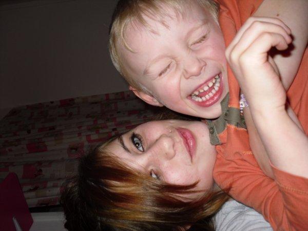 moi et mon petit couzin