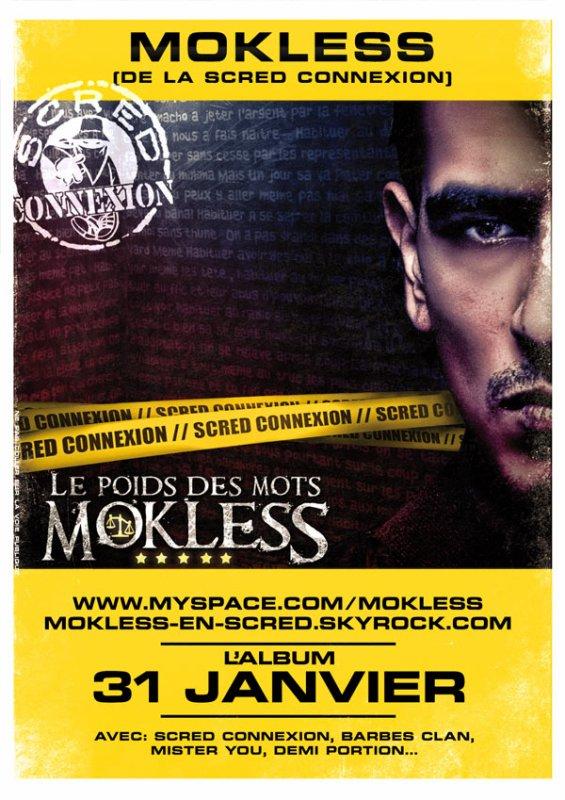 NOUVELLE DATE - SORTIE DE L'ALBUM DE MOKLESS!!!