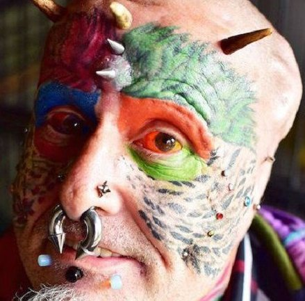 L'homme perroquet