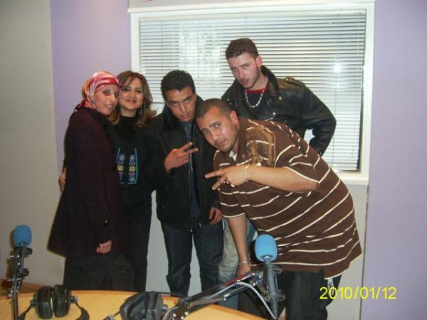 DR-CLiQue à Radio Medi1   Tanger 2009