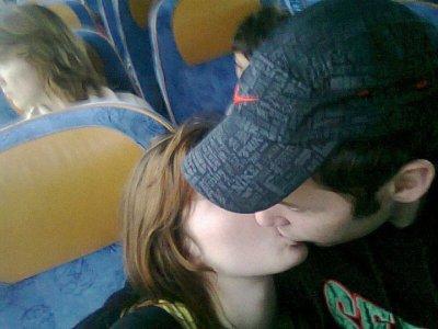 Moii & ma femme dans le bus de paris