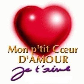 MoOn petit coeur d'amour je t'açiime