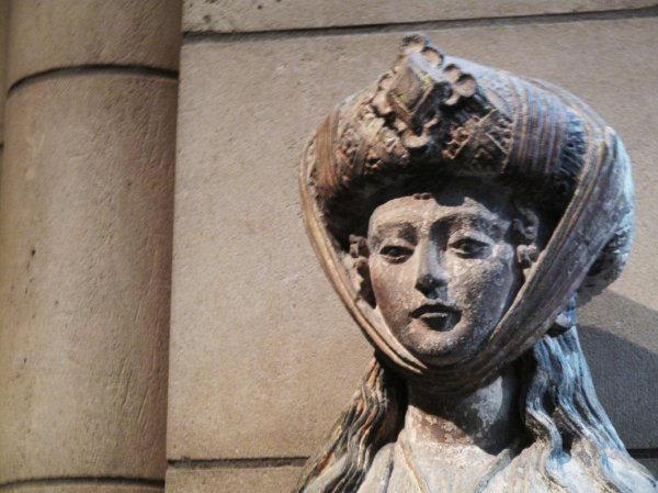 Un moment au metropolitan museum à New York.