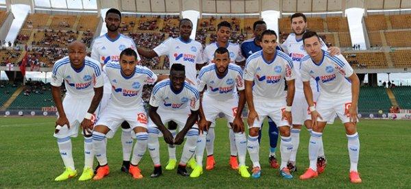 L'équipe des marseillais 2014- 2015