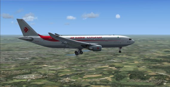 A330-200 Flight Simulator X Air Algerie