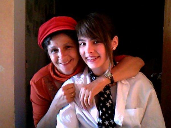 Moi et ma grand mère !!!