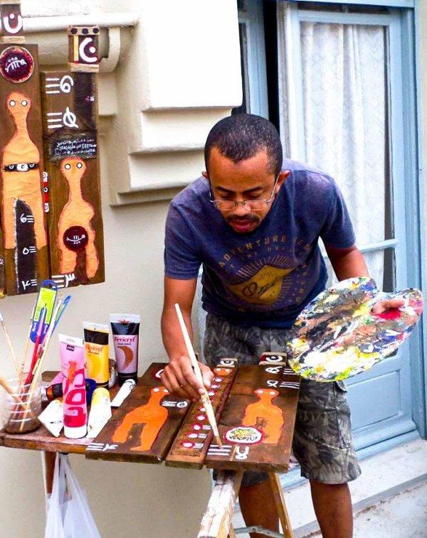 SEDA : Je refuse toute classification de mon art… Mes ½uvres sont d'ordre culturel, a déclaré Saïd Abdallah  Article paru dans Week-End | 8 mai, 2016 - 09:00