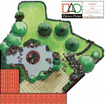 Cr ation de plan de bassin d 39 eau avec logiciel for Logiciel creation de plan