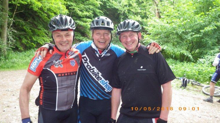 René, Fredo et Bruno à Clermont