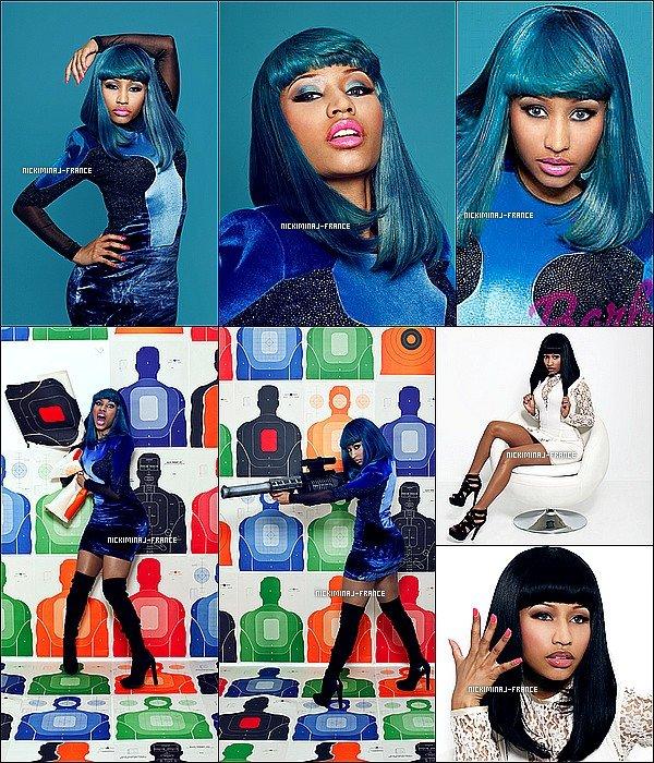 Photoshoot de Nicki datant de 2010 réalisé pour le magazine « XXL »__Tu aimes ?