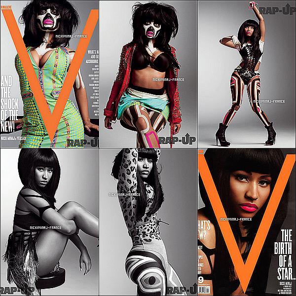Photoshoot de Nicki réalisé pour le magazine « V » datant de Janvier 2011.__Tu aimes ?