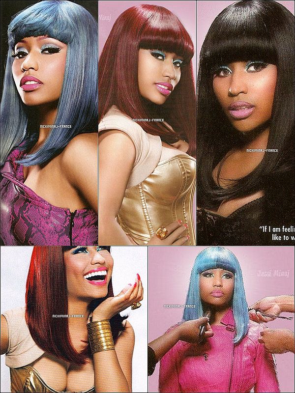 Découvre quelques scans du magazine « NME » du mois de Février. ___TU AIMES ? +Découvre de magnifiques scans du magazine « BHE ». Quelle couleur de cheveux préfères-tu sur Nicki ?