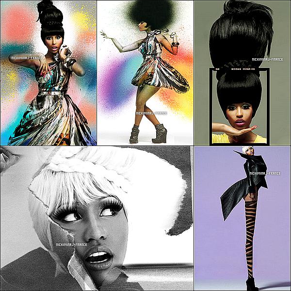 Photoshoot de Nicki datant de 2010 réalisé pour la magazine OUT par G.L WOOD.__Original, non ?
