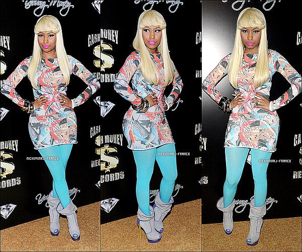 12/02/11 - Nicki était au pré-Grammy Awards, Cash Money Records à West Hollywood.'TOP/FLOP?