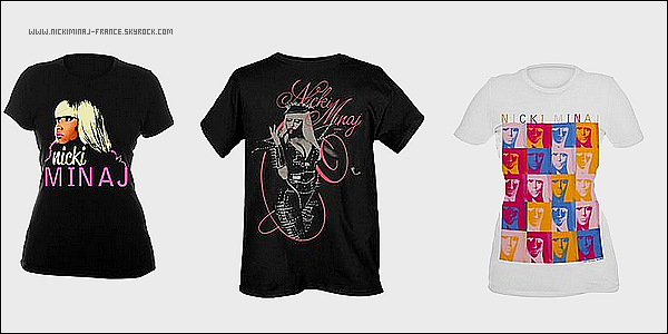 Tu as envie d'un beau tee shirt Nicki Minaj ? COMMANDE-LE ICI !