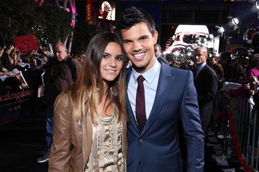 Taylor Lautner et sa soeur