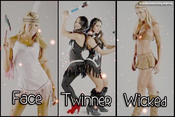 Face -- Twinner--Wicked
