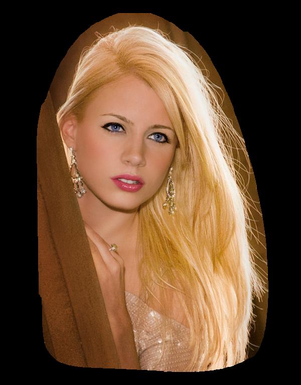 une blonde