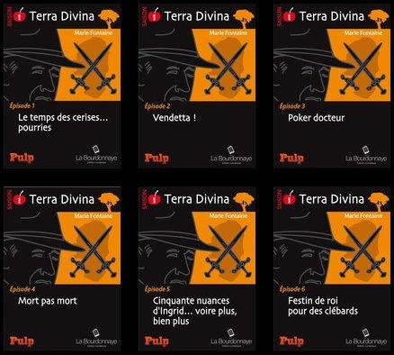Terra Divina, Collection PULP, La Bourdonnaye Editeur Numérique