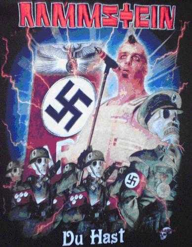 Rammstein might actually be Nazis !