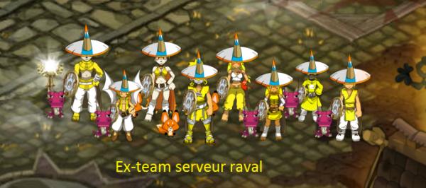 Début du blog de la Ex team