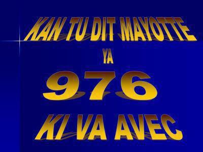 mayotte 976