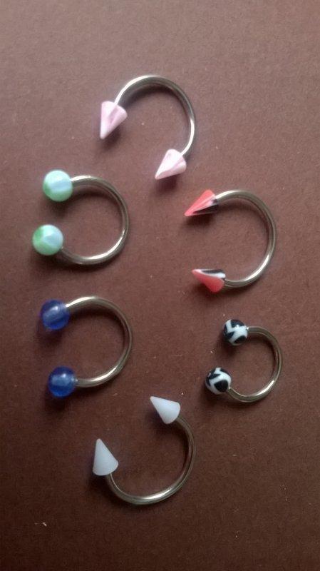 les 10 piercings pour 5.90¤