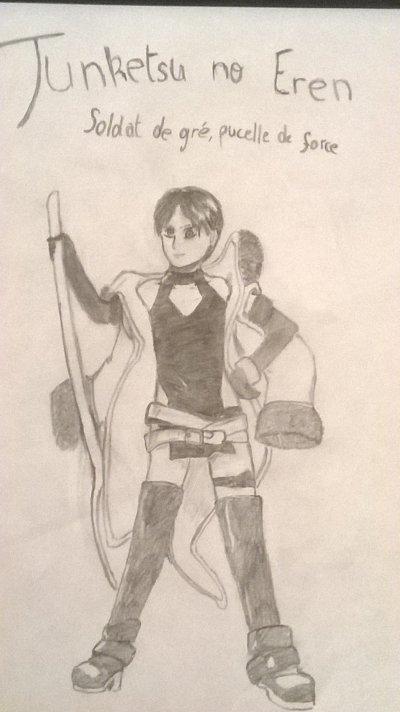 Junketsu no Eren, soldat de gré, pucelle de force