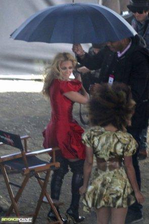 """Beyonce sur le tournage de sa nouvelle vidéo """"Girl"""""""