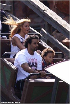 Beyoncé à Disneyland Paris