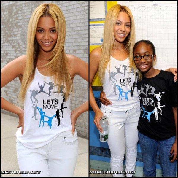 """Beyoncé danse """"Move Your Body à Harlem"""