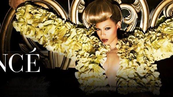 """Beyoncé : Elle dévoile la tracklist de """"4"""" sur Facebook + 3 nouvelles photo de l'album """"4"""""""