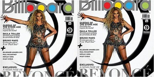 Beyoncé fait la cover de Billboard Brasil
