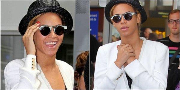 Beyoncé est arrivée à Nice !