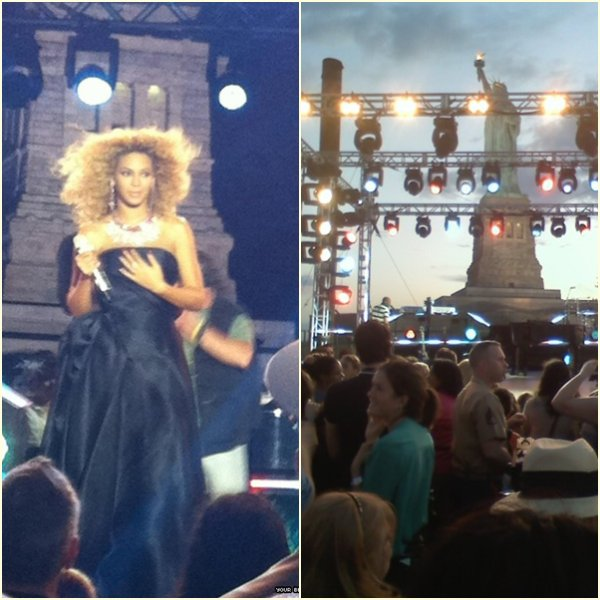Beyonce : NBC - 4th of July