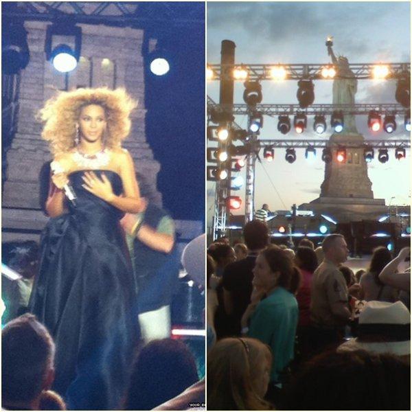 Beyonce : NBC - 4th of July
