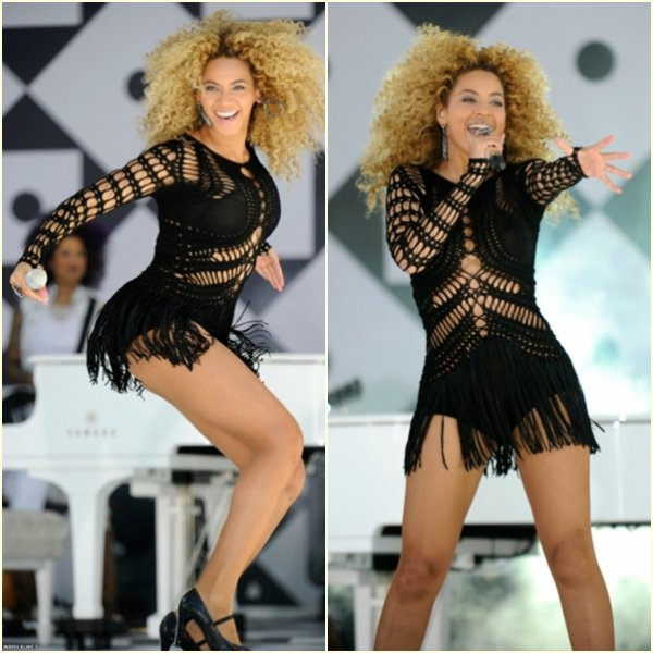 Beyonce au Good Morning America