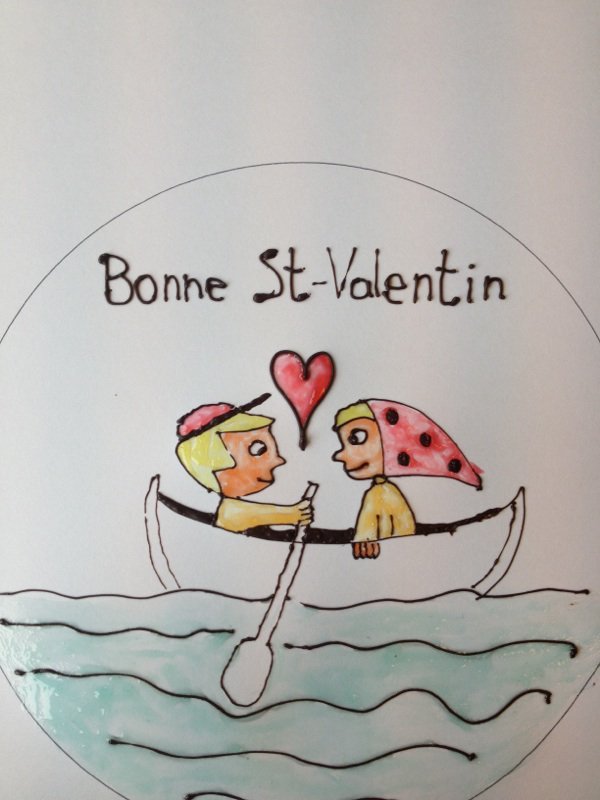 Decors st valentin :)