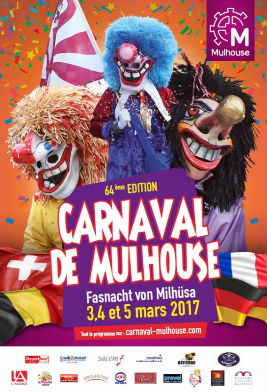 carnaval de mulhouse ce week end