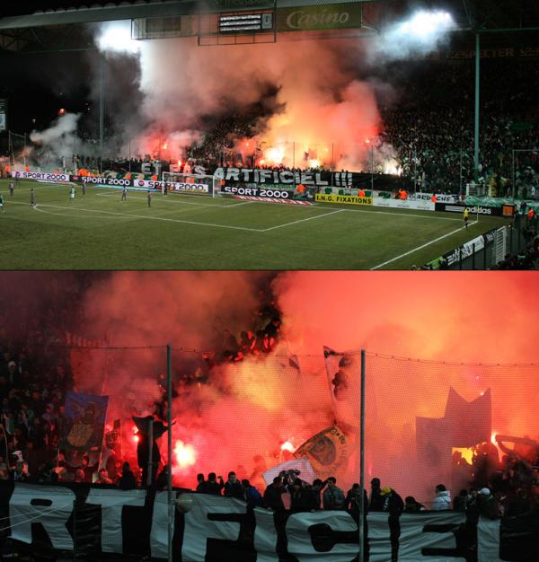 ASSE-Rennes : 20 ans des Greens Angels