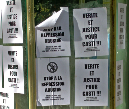 Manifestation Nationale des Ultras de France