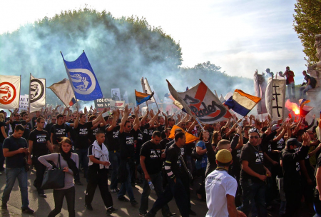 Manifestation Nationale des Ultras de France