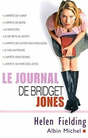 Bridget Jones Tome 1 et 2 d'Helen Fielding.