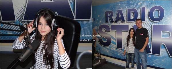-  23 Novembre 2011 :  Marina Dalmas est passé sur RadioStars.      -
