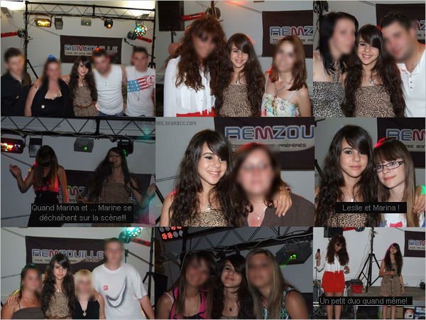 -  2/06 ▬ Marina DALMAS etait à la soirée REMZOUILLE RADIO à Vitrolles.      -
