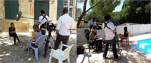 -  10/07 ▬ Marina DALMAS a était Interviewer par l'équipe d'Incroyable Talent pour un reportage.     -