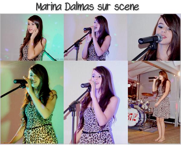 -  05/08 ▬ Marina DALMAS étais invitée au CAMPING 4 ETOILES à JOYEUX (en ardèche)     -